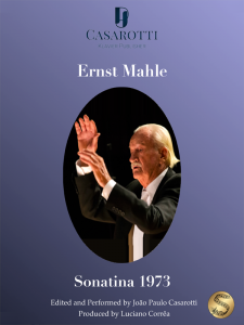 Sonatina 1973 by Ernst Mahle-Cover