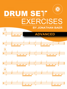 Advanced Drum Set Exercises Cover