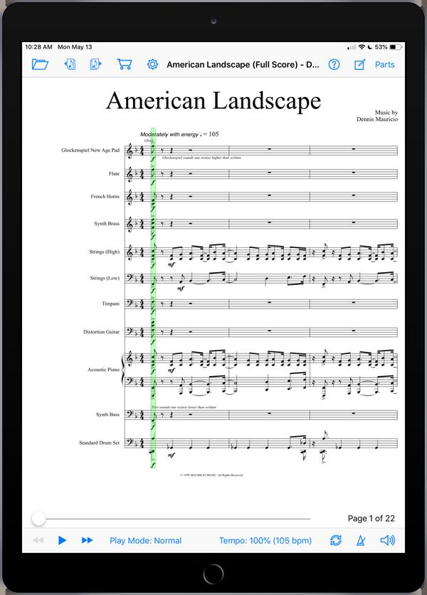American Landscape by Dennis Mauricio
