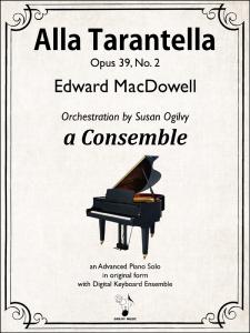 Alla Tarantella, Op. 39, No. 2 by MacDowell-Ogilvy-Cover