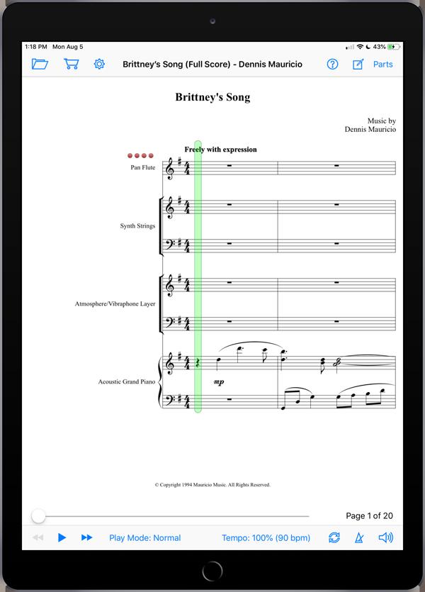Brittney's Song by Dennis Mauricio