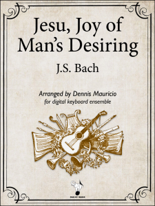 Jesu Joy of Man's Desiring by Bach-Mauricio-Cover