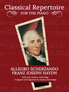Allegro Scherzando by Franz Joseph Haydn Cover