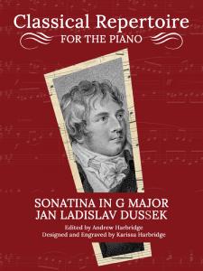 Sonatina in G Major, Op. 20, No. 1 by Jan Ladislav Dussek Cover