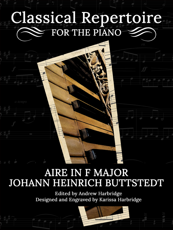 Aire in F Major by Johann Heinrich Buttstedt Cover