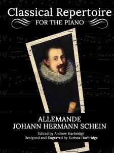 Allemande by Johann Hermann Schein Cover