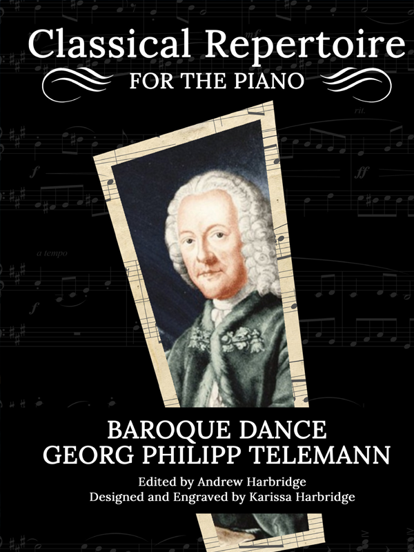 Baroque Dance by Georg Philipp Telemann Cover