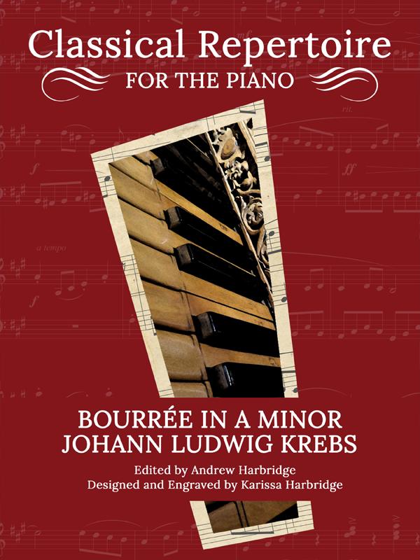 Bourree in A Minor by Johann Ludwig Krebs Cover