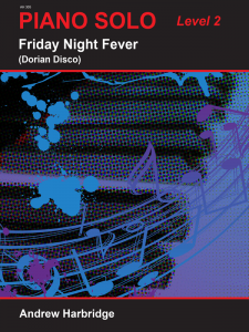 Friday Night Fever by Andrew Harbridge Cover