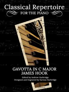 Gavotta in C Major by James Hook Cover