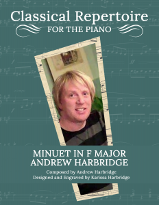Minuet in F Major by Andrew Harbridge—LARGE