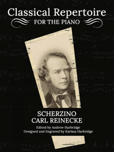 Scherzino by Carl Reinecke Cover