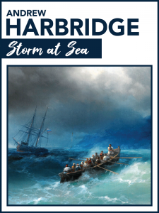 Storm at Sea by Andrew Harbridge Cover