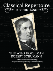 The Wild Horseman by Robert Schumann Cover