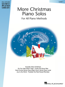 More Christmas Piano Solos Level 1 Cover