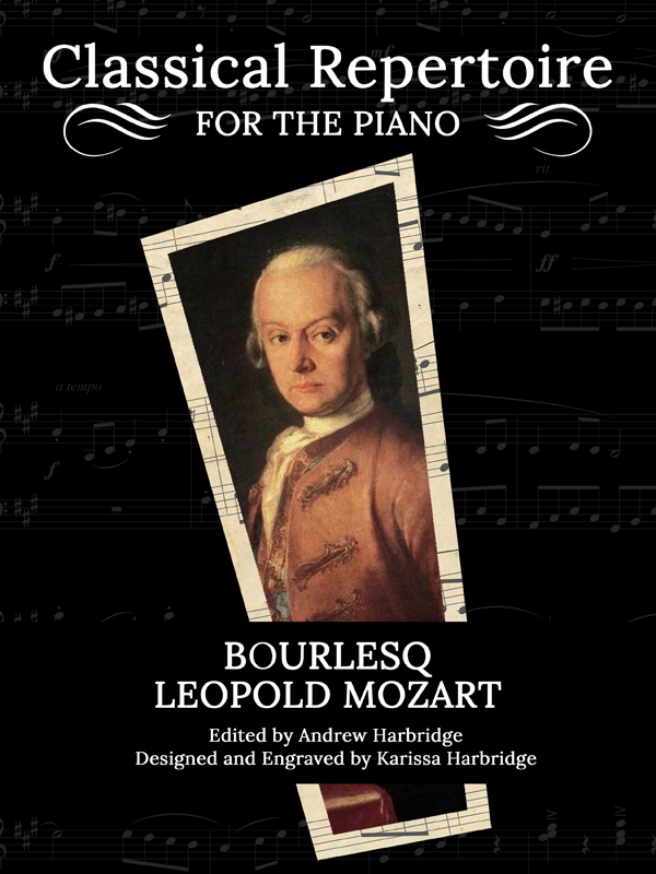 Bourlesq by Leopold Mozart Cover