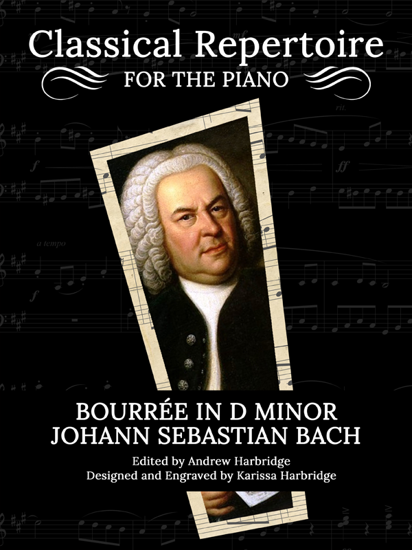 Bourrée in B Minor, BWV 1002 - Bach-Harbridge Cover