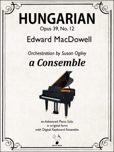 Hungarian, Op. 39, No. 12 - MacDowell-Ogilvy-Cover