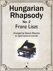 Hungarian Rhapsody No.2 by Liszt-Mauricio Cover