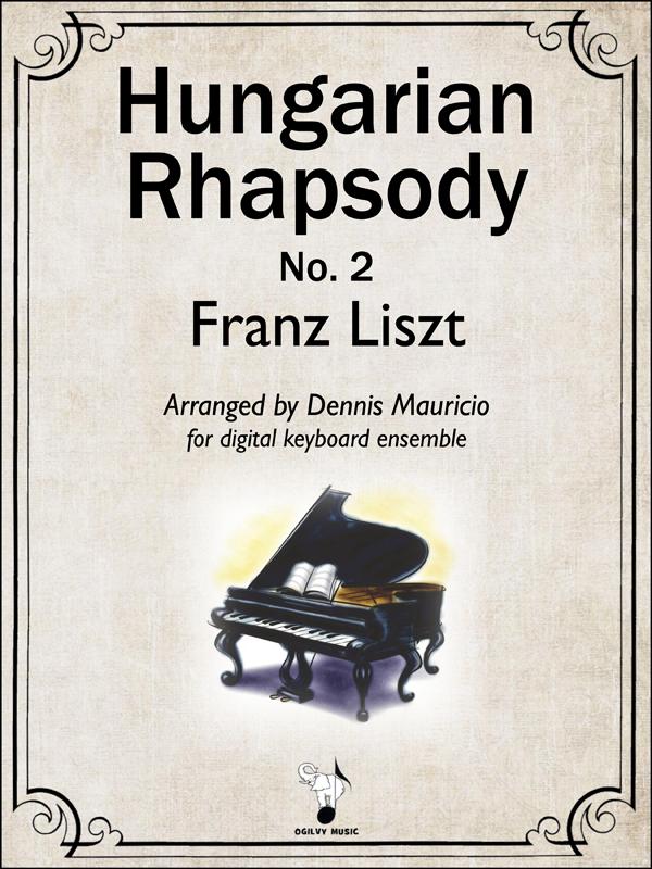 Hungarian Rhapsody No.2 by Liszt-Mauricio Cover