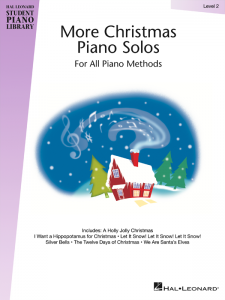 More Christmas Piano Solos Level 2 Cover