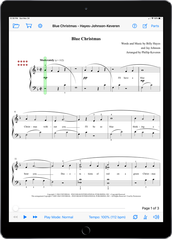More Christmas Piano Solos Level 3