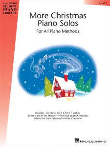 More Christmas Piano Solos Level 5 Cover