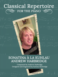Sonatina à la Kuhlau by Andrew Harbridge Cover