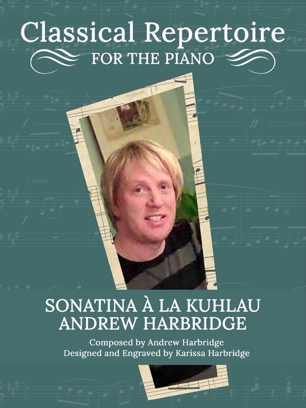 Sonatina à la Kuhlau by Andrew Harbridge Cover