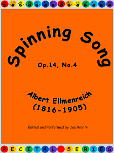 Spinning Song by Albert Ellmenreich Cover