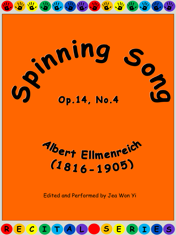 Spinning Song by Albert Ellmenreich Cover