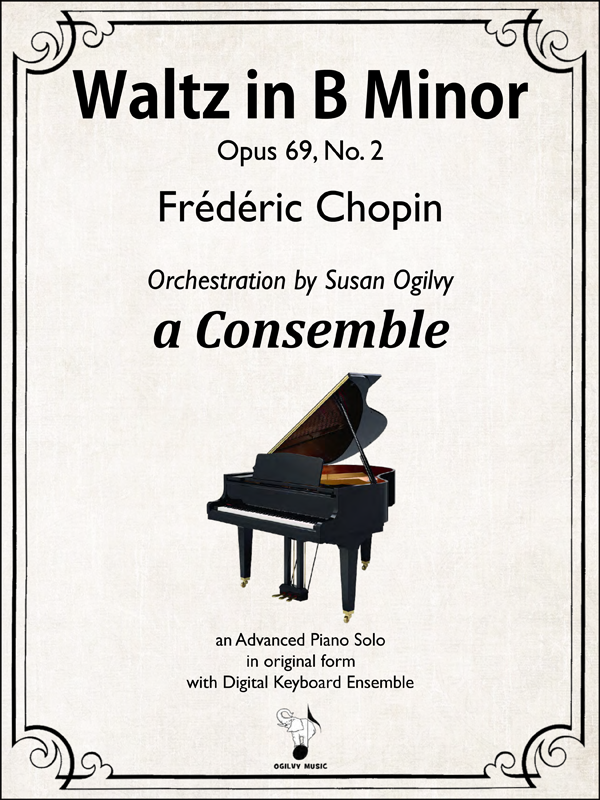 Waltz in B Minor by Chopin-Ogilvy-Cover