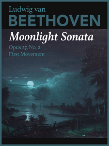 Moonlight Sonata by Ludwig van Beethoven Cover