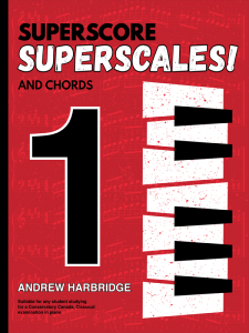 SuperScore SuperScales and Chords Book One Cover