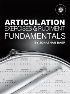 Articulation Exercises and Rudiment Fundamentals Part 1 Cover