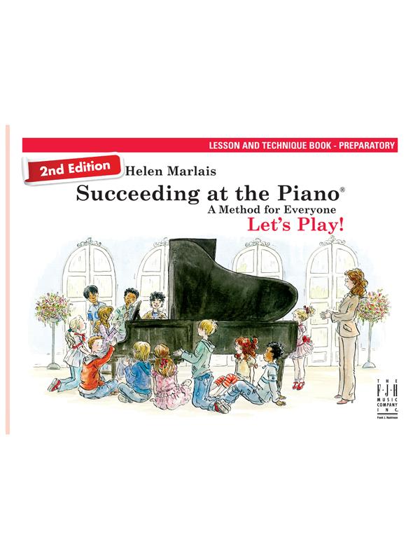 Lesson and Technique Book Prep Cover