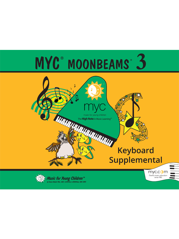 MYC Moonbeams 3 Keyboard Supplemental Cover