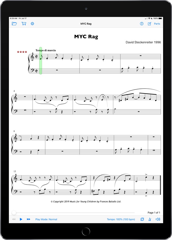 MYC Moonbeams 3 Keyboard Supplemental