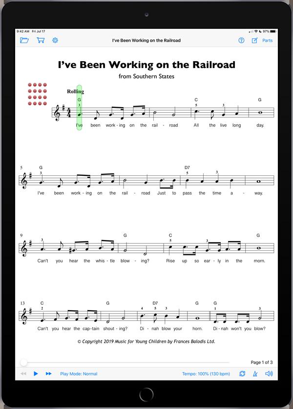 MYC Moonbeams 3 Singing