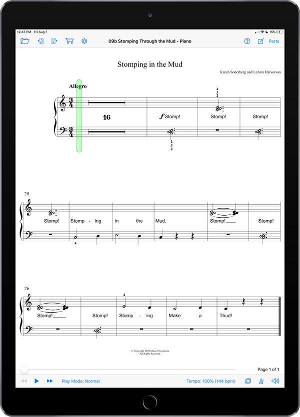 Music Experience B4 – Intro to Ties by LeAnn Halvorson