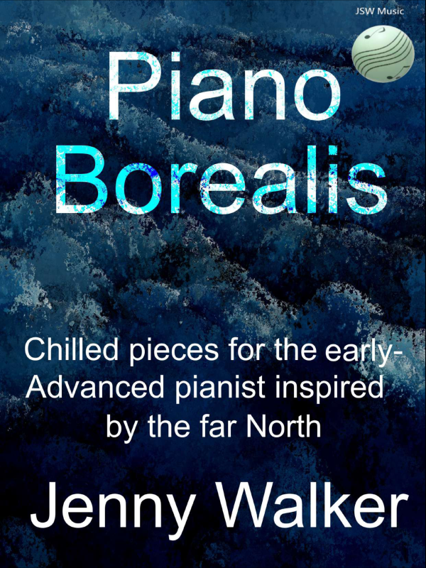 Piano Borealis by Jenny Walker Cover