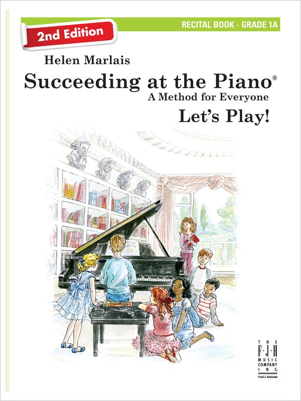 Recital Book 1A Cover