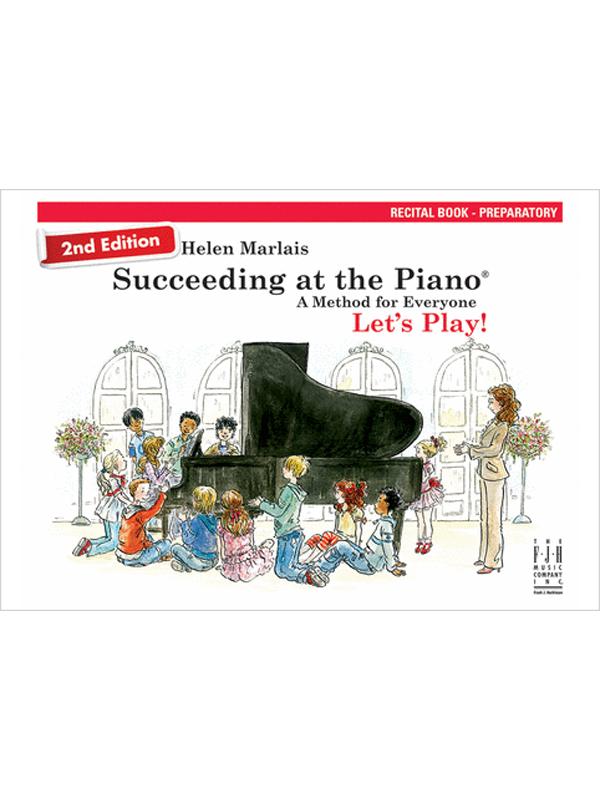 Recital Book Prep Cover