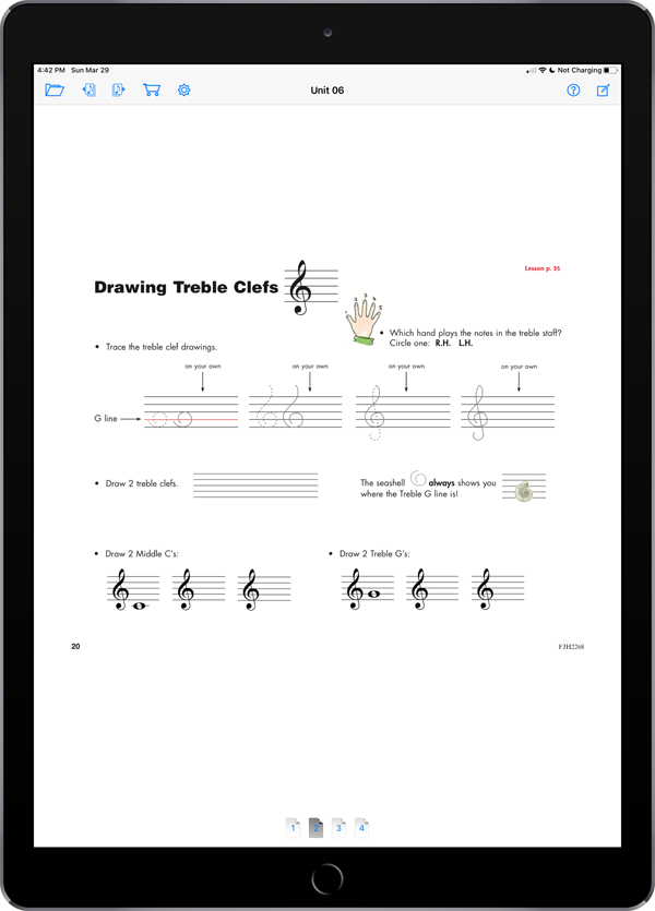 Succeeding at the Piano – Theory and Activity Book – Preparatory