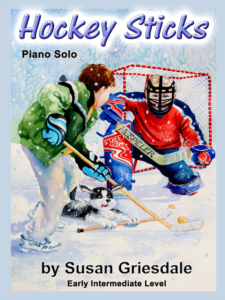 Hockey Sticks by Susan Griesdale Cover