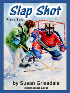 Slap Shot by Susan Griesdale Cover