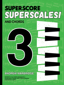 SuperScore SuperScales and Chords Book Three Cover