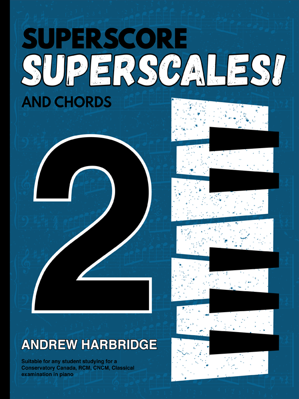 SuperScore SuperScales and Chords Book Two Cover
