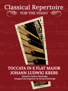 Toccata in E-Flat Major - Johann Ludwig Krebs Cover