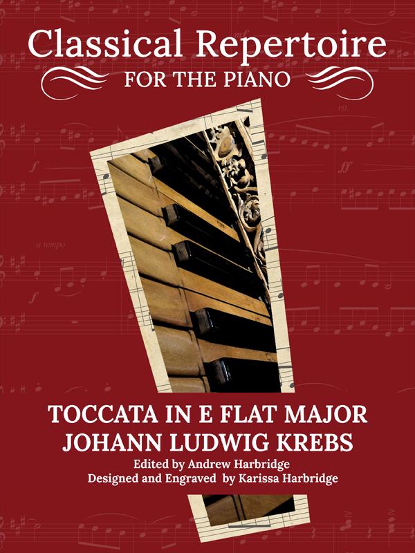 Toccata in E-Flat Major - Johann Ludwig Krebs Cover